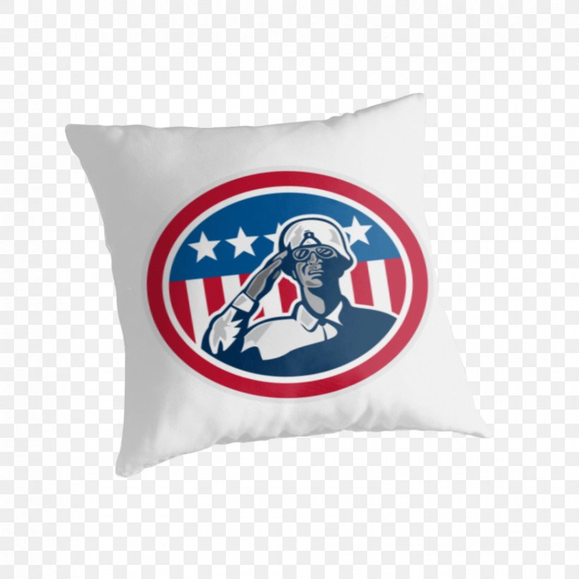 Flag Of The United States Soldier Salute, PNG, 875x875px, United States, African American, Cushion, Flag Of The United States, Material Download Free