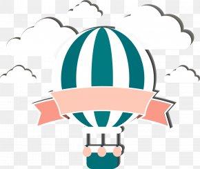 Cartoon Hot Air Balloon - Hot Air Balloon Clip Art PNG