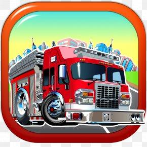 Fire Truck - Fire Engine Firefighter Car PNG