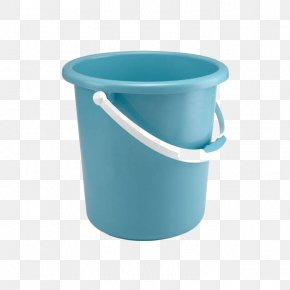 Blue Bucket - Huangyan District Plastic Bucket Molding Paper PNG