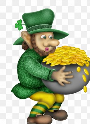 Saint Patrick's Day - Saint Patrick's Day Irish People Luck Leprechaun Clip Art PNG