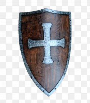 Knight Shield - Middle Ages Crusades Shield Knight Live Action Role-playing Game PNG