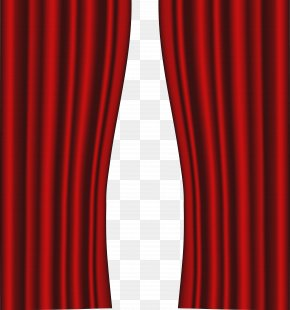 Red Curtains Transparent Clip Art Image - Theater Drapes And Stage Curtains Light Red PNG