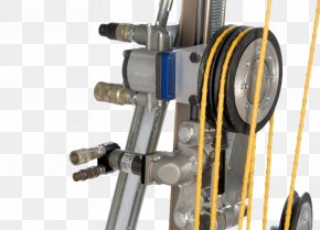 Hydraulic Drive System - Wire Saw Machine Cutting Tool PNG