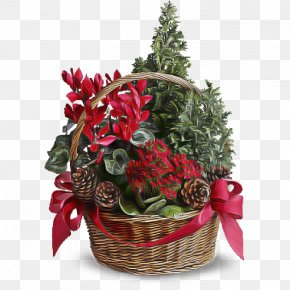 Christmas Decoration Bouquet - Christmas Decoration PNG