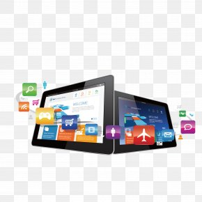 Vector Tablet PC - IPad Computer Application Software PNG