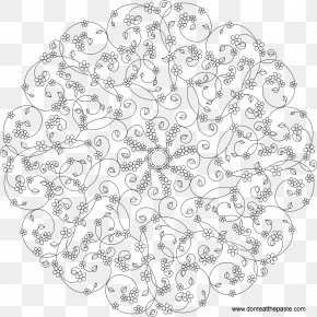 Mandala Coloring Pages For Adults Coloring Book Flower Of Alaska DrawingForget Me Not - Mandalas To Color PNG