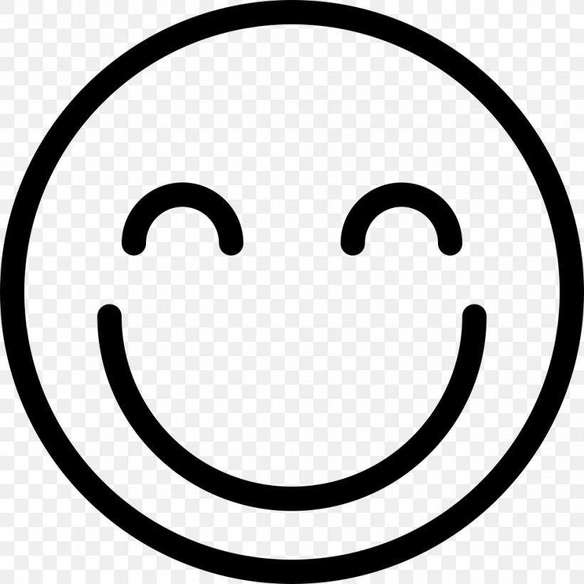 Smiley Emoticon, PNG, 980x980px, Smiley, Area, Black And White, Csssprites, Emoticon Download Free