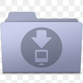 Downloads Folder Lavender - Brand Rectangle Font PNG