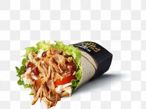 Pulled Pork - Wrap Pulled Pork Fast Food McDonald's Recipe PNG