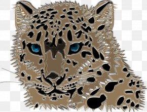 Snow Leopard Glass - Amur Leopard Felidae Cheetah Snow Leopard Clip Art PNG
