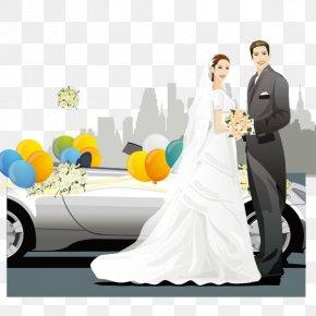 Bride And Groom - Bride Marriage Wedding PNG