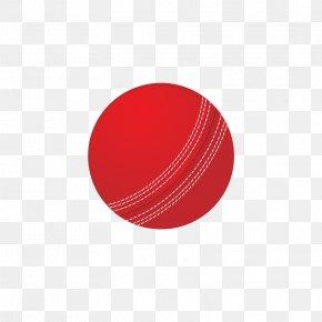 Cricket Ball Free Image - Cricket Ball Red Circle PNG
