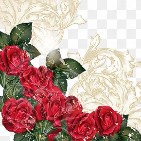 Fantasy Rose Illustration - Rose Flower Stock Photography Illustration PNG