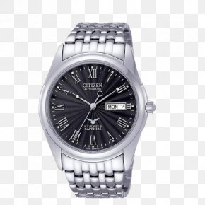 Watch - Watch Citizen Holdings Eco-Drive Clock Water Resistant Mark PNG