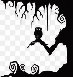 Owl Tree - Halloween Jack-o'-lantern Pumpkin PNG