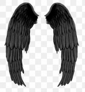 Black Evil Wings - DeviantArt Angel Drawing PNG