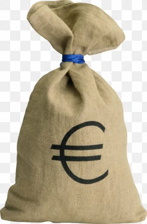 Money Bag - Money Bag Euro Sign PNG