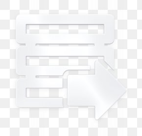 Rectangle Blackandwhite - Data Icon Database Icon Download Icon PNG