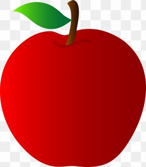 Cute Apple Cliparts - Snow White Apple Clip Art PNG