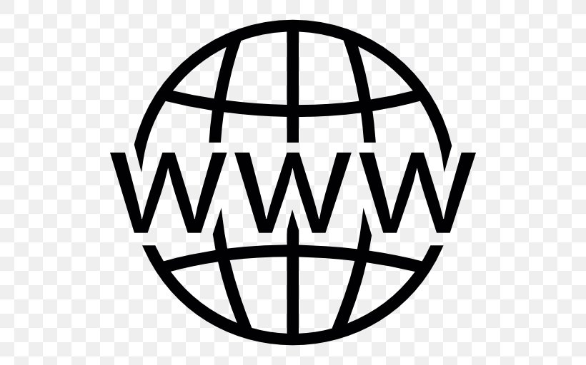 World Wide Web Internet Icon, PNG, 512x512px, World Wide Web, Area, Ball, Black And White, Brand Download Free