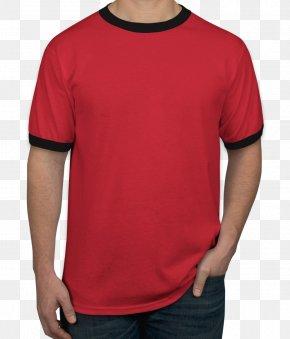 T-shirt Printing - Ringer T-shirt Long-sleeved T-shirt PNG