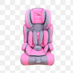 Pink Car Rental - Car Chair Child Safety Seat PNG
