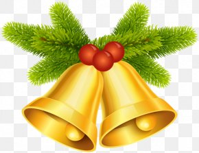 Christmas Clip Art Bells - Clip Art Image Vector Graphics Free Content PNG