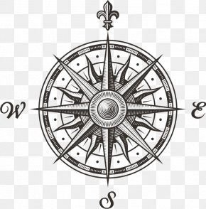 Compass - Compass Rose Stock Photography Clip Art PNG