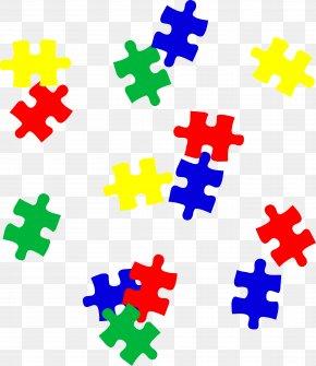 Game Pieces Cliparts - Jigsaw Puzzle Autism Autistic Spectrum Disorders Clip Art PNG