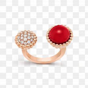 Ring Finger - Pearl Earring Jewellery Van Cleef & Arpels PNG