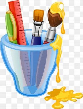 School - Drawing School Supplies Clip Art PNG