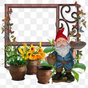Cartoon Christmas Elf Dwarf Shape Frame - Santa Claus Christmas Elf Christmas Elf PNG