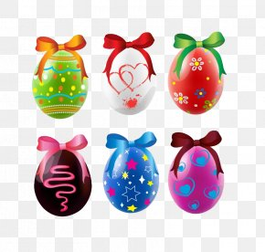 Bow Eggs - Easter Bunny Happy Easter Eggs Happiness PNG