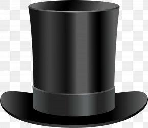 Hat Image - Top Hat Black Hat Coat PNG