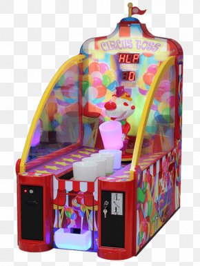 Ring Toss - Circus Universal Space Redemption Game Entertainment Arcade Game PNG