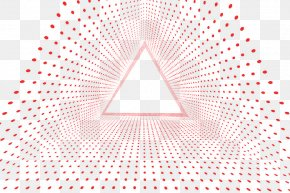 Creative Dot Triangle - Triangle Area Pattern PNG