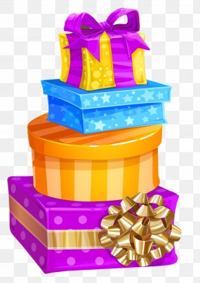Birthday Gift - Christmas Gift Box Birthday Clip Art PNG