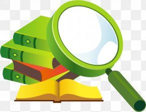 Magnifying Glass Vector Material Books - Beijing Research Institute Of International Economics And Trade Magnifying Glass PNG