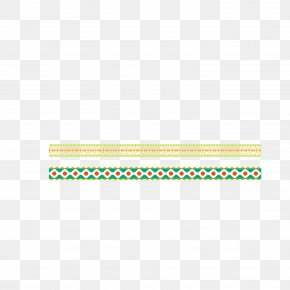 Vector Pattern Material Decorative Edge Pattern Shading - Green Area Pattern PNG