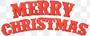 Merry Christmas Red Clip Art - Santa Claus Christmas Clip Art PNG