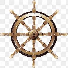 FIG Steering Wheel Material - Ships Wheel Boat Rudder Steering Wheel PNG