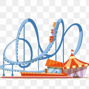 Roller Coaster Games - Coney Island Universal Orlando Amusement Park Roller Coaster PNG