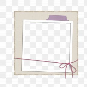 Frame Picture Frame Material,Cartoon Painted Border Bow - Picture Frame Pattern PNG