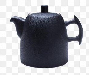 Large Black Tea Teapot - Teapot Ceramic Teaware PNG