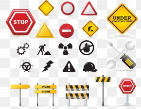 Vector Traffic Signs Element - Traffic Sign Road Transport U-turn PNG