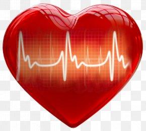 Healthy - 3D Computer Graphics Heart Clip Art PNG