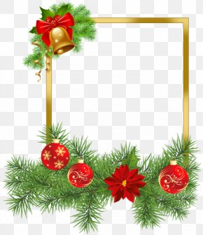 Santa Claus - Santa Claus Christmas Card Picture Frames PNG