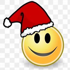 Smiley - Santa Claus Christmas Smile Gift Happiness PNG