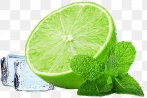 Free To Pull The Summer Lime Ice Material - Smoothie Water Mint Iced Tea Lemonade PNG